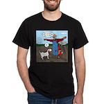 Scarecrow Fox and Hound Dark T-Shirt