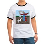 Scarecrow Fox and Hound Ringer T