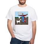 Scarecrow Fox and Hound White T-Shirt
