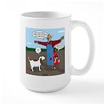 Scarecrow Fox and Hound Large Mug