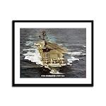 USS INTREPID Framed Panel Print