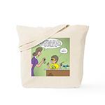 KNOTS Space Race Tote Bag