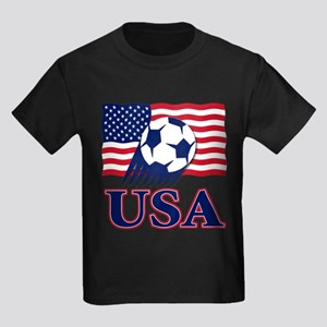 USA Soccer Kids Dark T-Shirt