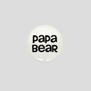 Papa Bear Mini Button