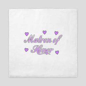Matron of Honor Queen Duvet