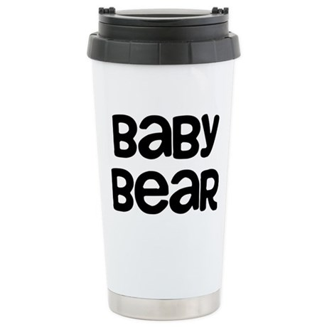 Baby Bear 16 oz Stainless Steel Travel Mug