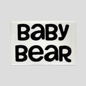 Baby Bear Rectangle Magnet