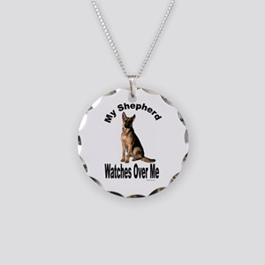 My Shepherd Necklace Circle Charm