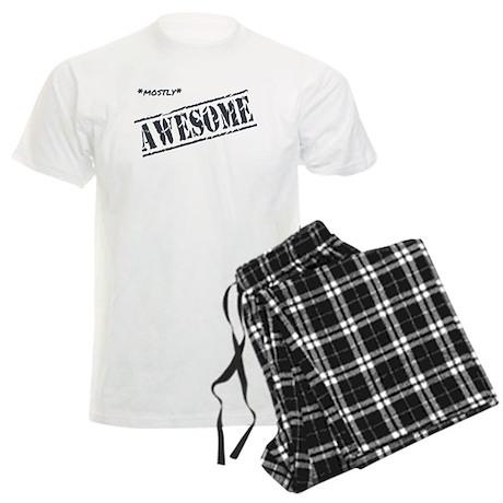 Mostly Awesome Men's Light Pajamas