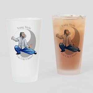 Yang Tai Chi Chuan Drinking Glass
