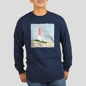 Barnegat Lighthouse Long Sleeve Dark T-Shirt