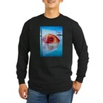 Floating in the mirror Long Sleeve Dark T-Shirt