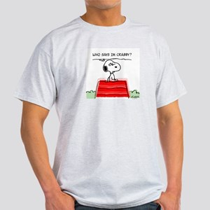 Crabby Snoopy Light T-Shirt