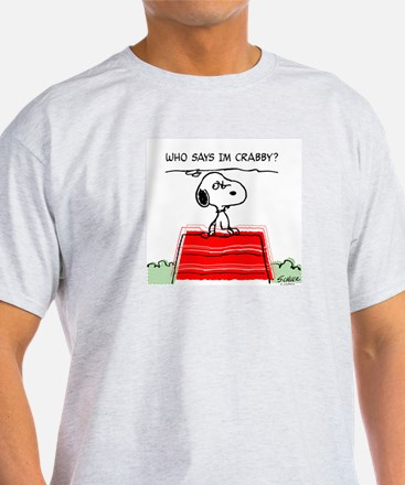 Crabby Snoopy T-Shirt