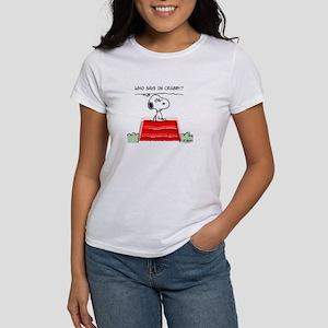 Crabby Snoopy Women's T-Shirt
