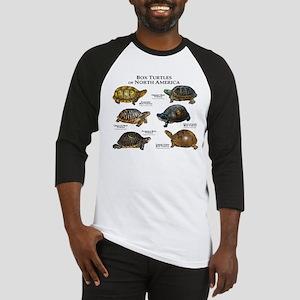 Box Turtles of North America Baseball Jersey