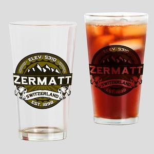 Zermatt Olive Drinking Glass