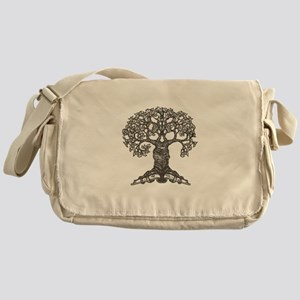 The Reading Tree Messenger Bag