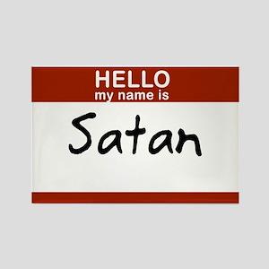 Satan Rectangle Magnet