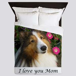 I love you Mom! Queen Duvet
