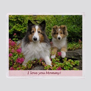 I love you Mommy! Throw Blanket