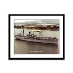 USS ISLE ROYALE Framed Panel Print