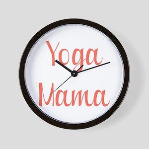 Yoga Mama Wall Clock