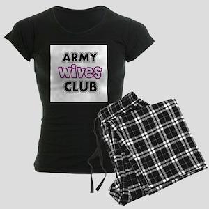 Army Wives Club Women's Dark Pajamas