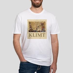 Gustav Klimt Tree Of Life Fitted T-Shirt