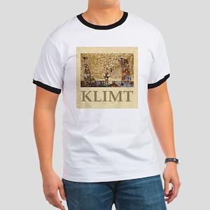 Gustav Klimt Tree Of Life Ringer T
