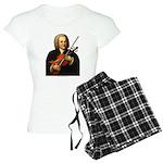 J.S. Bach on Viola Women's Light Pajamas