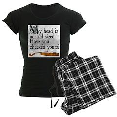 """Normal-sized Head"" Violist Pajamas"