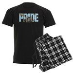 Drums Pride Men's Dark Pajamas