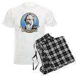 Johannes Brahms Men's Light Pajamas