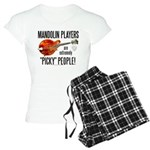 """Picky"" Mandolinist Women's Light Pajama"