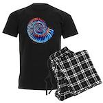 Ammonite Men's Dark Pajamas