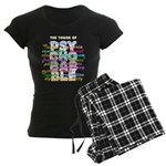 Psychobabble Women's Dark Pajamas