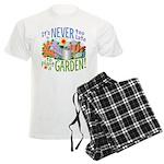 Plant a Garden Men's Light Pajamas