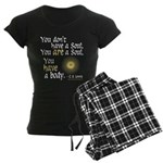 CS Lewis Soul-Body Quote Women's Dark Pajamas