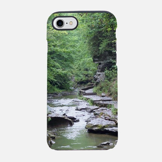 forest river scenery iPhone 7 Tough Case