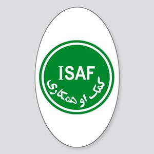 ISAF Oval Sticker