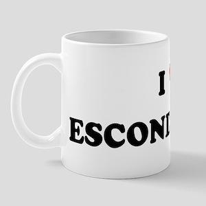 I Love Escondido Mug