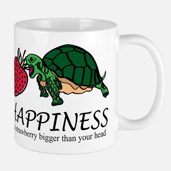 Happiness is (Strawberry) Mug