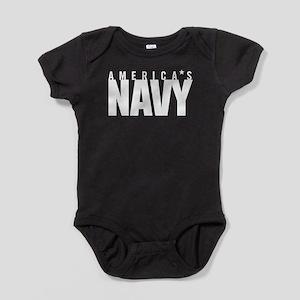 America's Navy Baby Bodysuit
