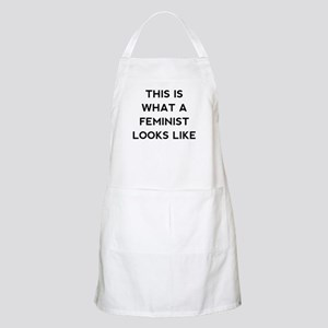 What a feminist looks like Apron
