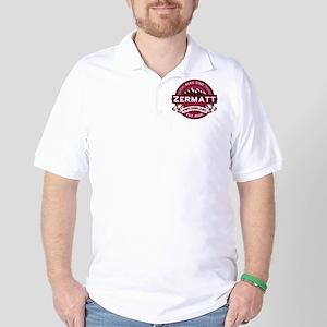 Zermatt Raspberry Golf Shirt