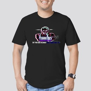 tinnitus awareness Men's Fitted T-Shirt (dark)