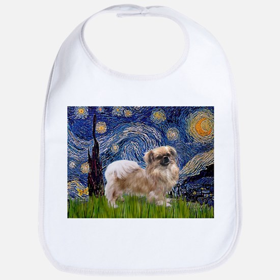 Starry / Tibetan Spaniel Bib
