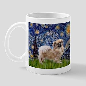 Starry / Tibetan Spaniel Mug