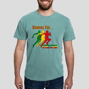 Running Ethiopia Mens Comfort Colors Shirt